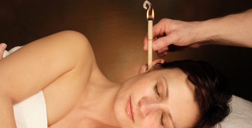 Mobile Ear Candling on Mondays