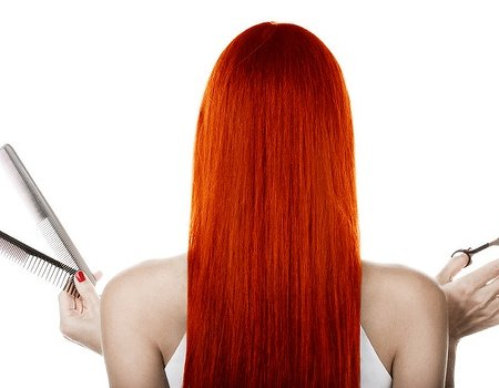 Fire up those follicles with a red hot hairstyle