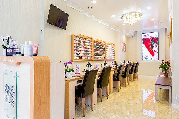 Le lotus beauty salon in great portland street london for Nail salon marylebone