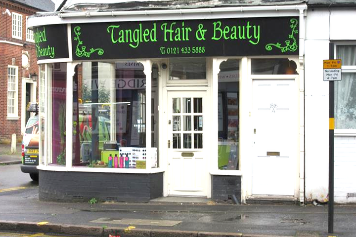 Tangled hair and beauty birmingham beauty salon in for Hair salon birmingham
