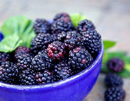 Blackberries - the new blueberries