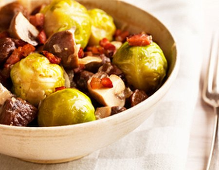 Brussels sprouts - your Christmas health heroes