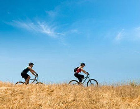 Don't stay cooped up - get some exercise outdoors