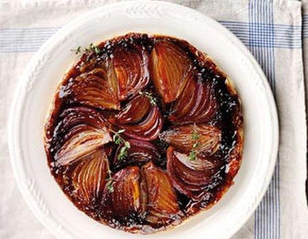 Onion Tart Tatin