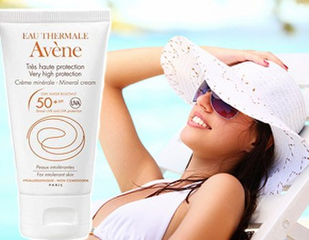 Tried and tested: Avène High Protection Cream SPF50