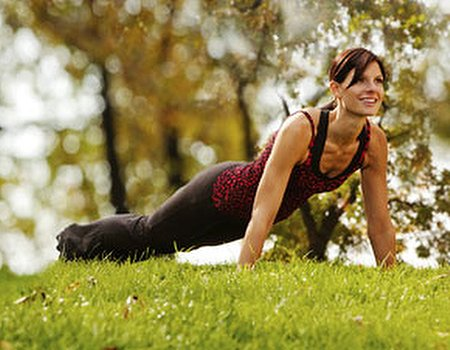 Get out there and exercise in the great outdoors