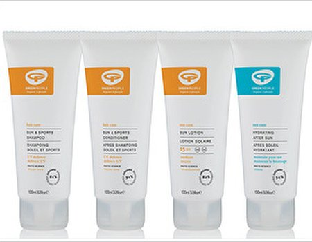 Tried and tested: Green People Sun Protection Travel Kit