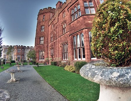 Ruthin Castle in Wales launches concept spa, The Moat