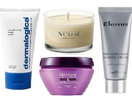 Take the spa along in your suitcase with mini beauty products