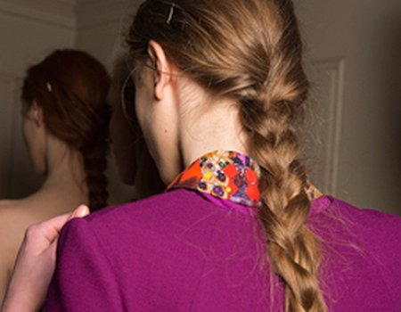 Treatwell news: Matthew Williamson brings the braid back at LFW