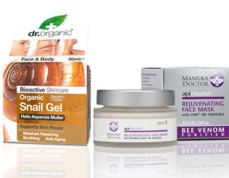 Tried and tested: creepy crawly face creams