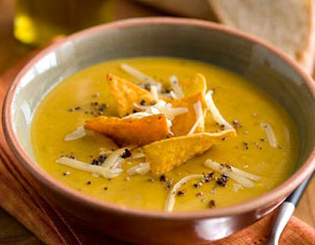 Hearty autumn soups