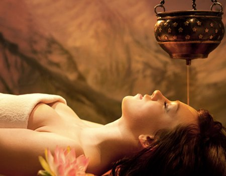 Stressed in the city? Try shirodhara at Ayurveda Pura
