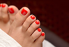 Pedicure with Normal Polish
