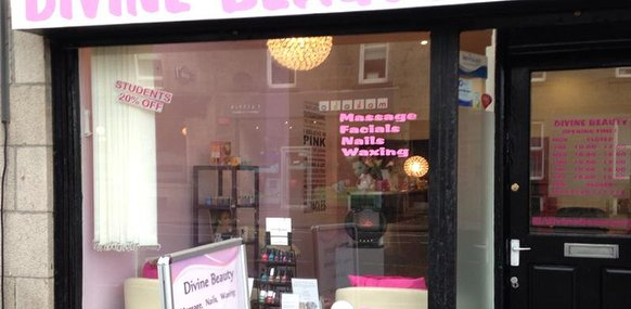 Divine beauty aberdeen nail salon in aberdeen for Aberdeen beauty salon