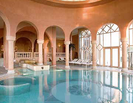 Les Thermes Marins de Carthage Spa at The Residence Tunis, Tunisia