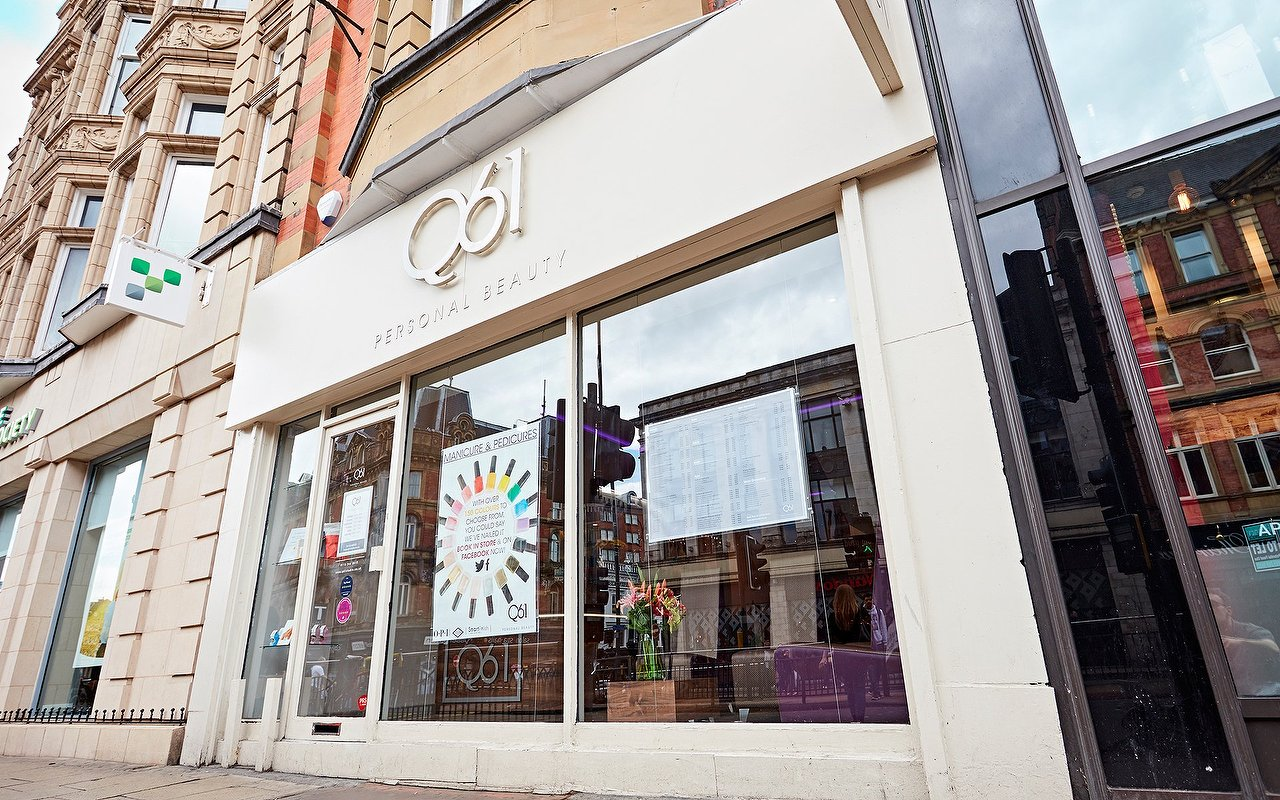Q61 Nail And Beauty Studio Leeds City Centre Salon In Treatwell
